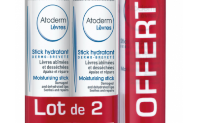 ATODERM Stick lèvre lot de 3