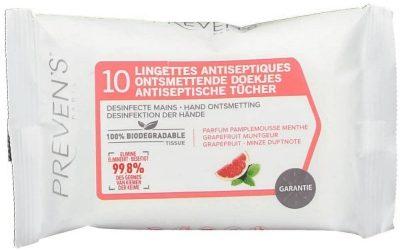 Lingettes antiseptiques Preven's